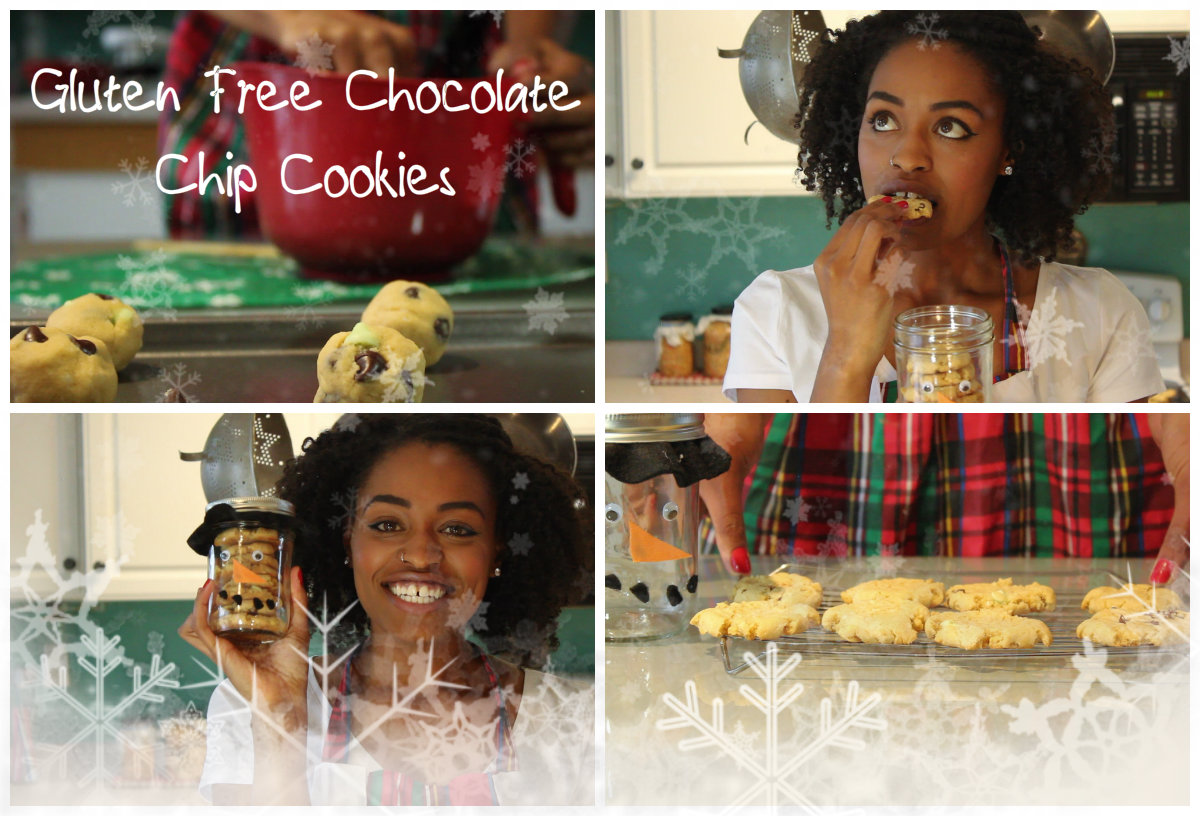 The Best Gluten Free Cookies EVER | Dark Chocolate and Mint GF Cookies For Santa!