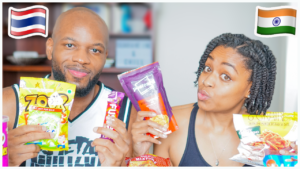 Americans Try Indian and Thai Snacks + Candy For The First Time (Video)