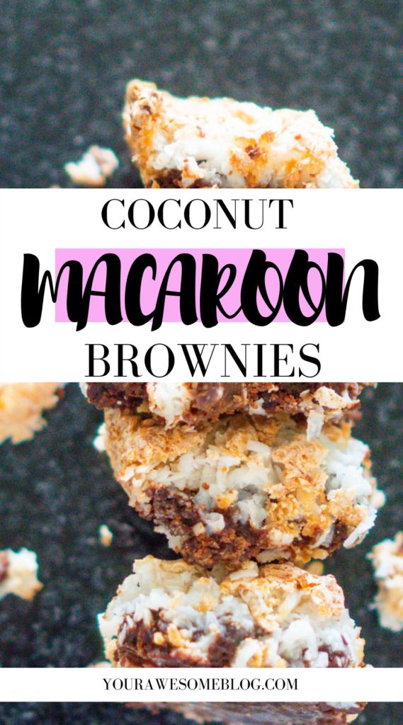 Pinterest Coconut Macaroon Brownies_2