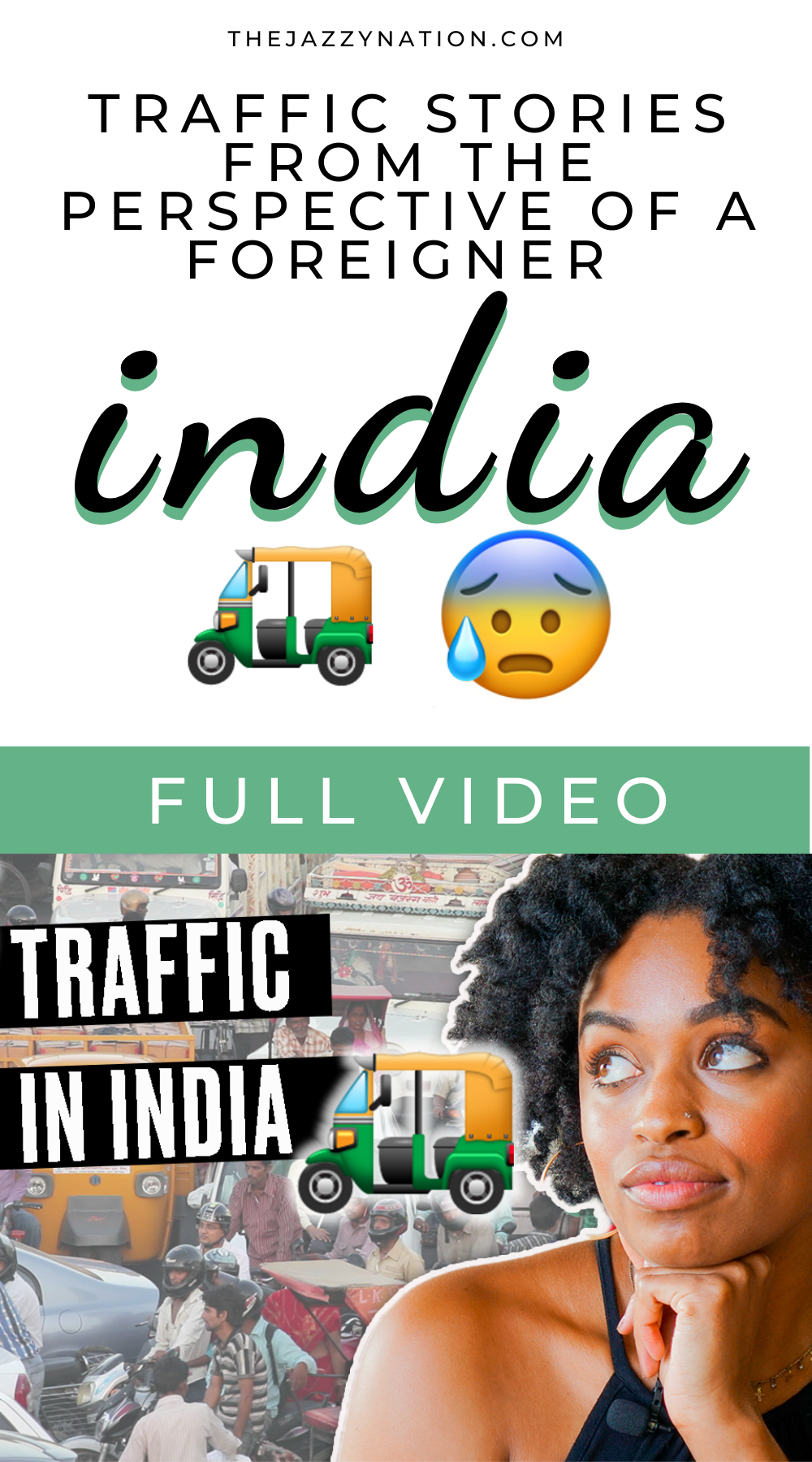 Read more about the article [VIDEO] What Traffic In India Is Really Like From The Perspective Of A Foreigner | Driving, Getting Sick, Tuk Tuks, And More!